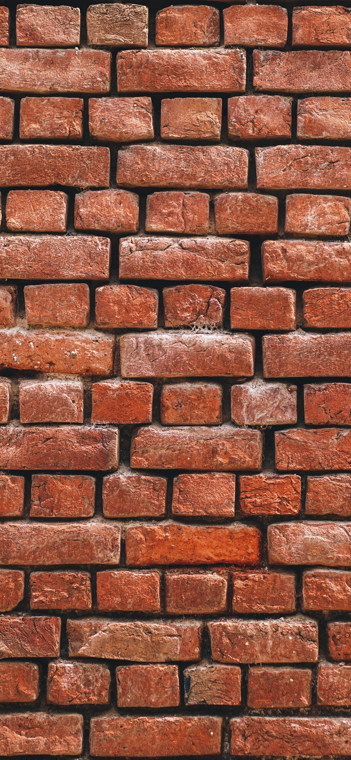 Brick wall background iPhone X 8,7,6,5,4,3GS wallpaper ...