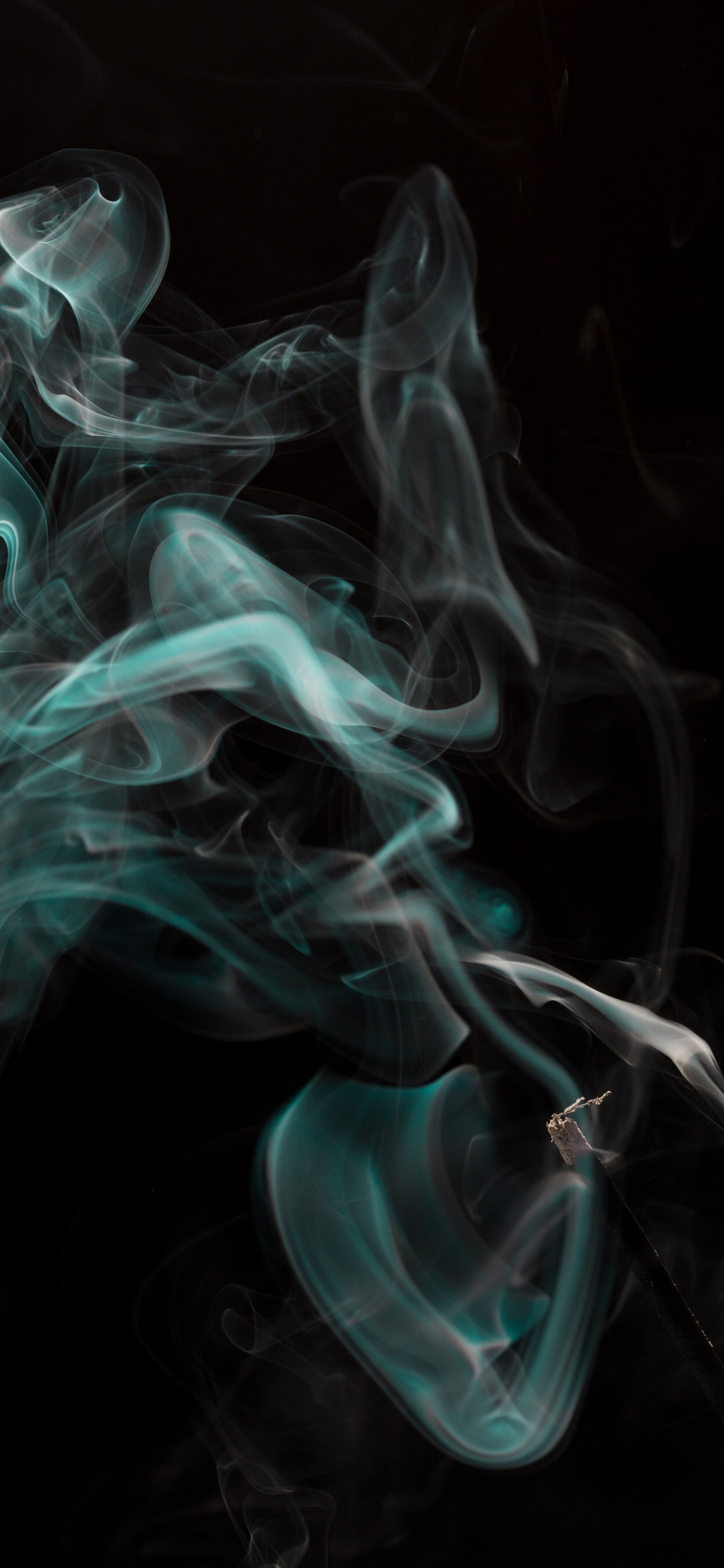 Abstract Smoke Black Background Iphone Xs Max X 8 7 6 5 4
