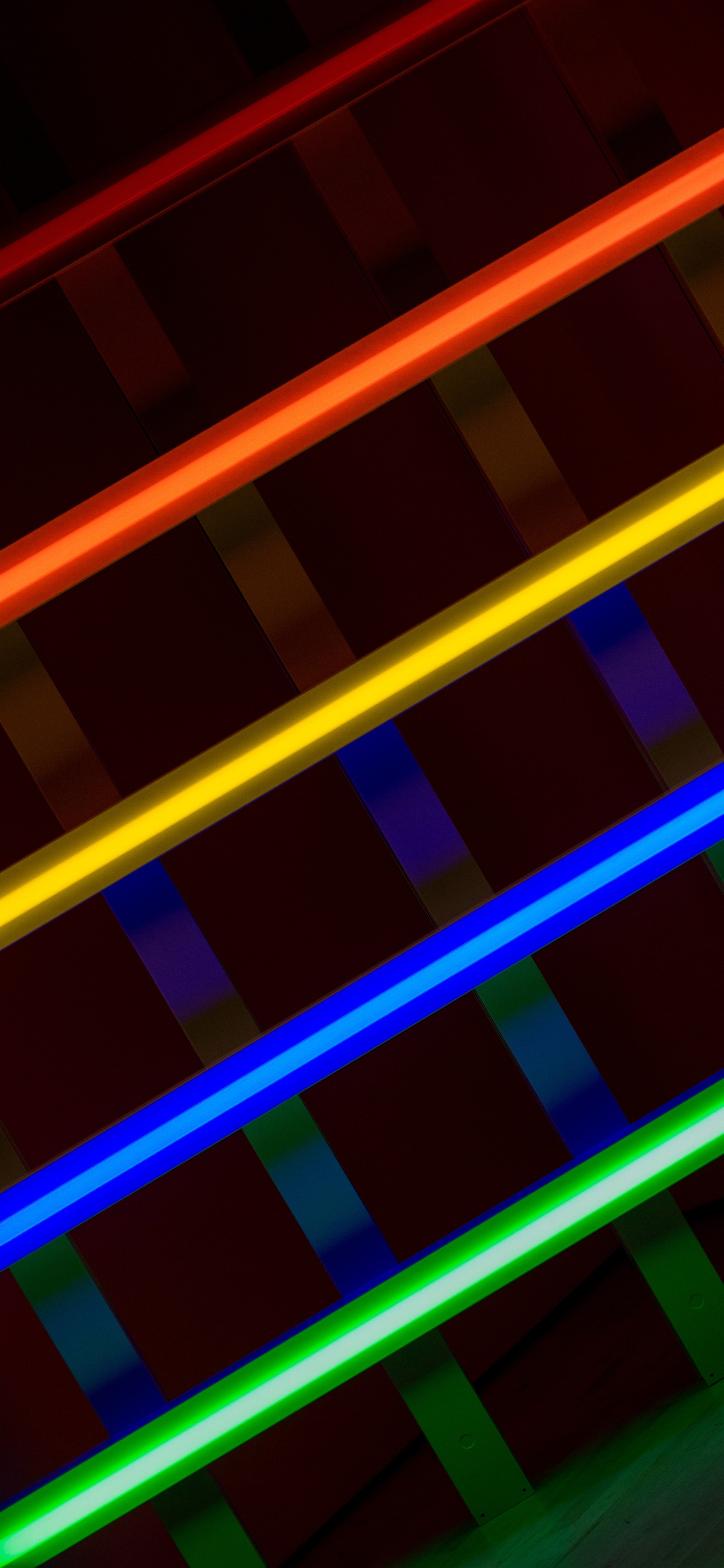 Colorful Lines Abstract Iphone Xs Max X 8 7 6 5 4 3gs Wallpaper