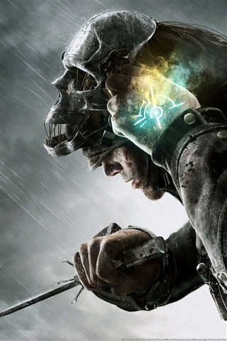 Dishonored PC game iPhone X 8,7,6,5,4,3GS wallpaper ...