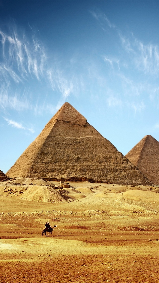 Egyptian Pyramids Iphone X 8 7 6 5 4 3gs Wallpaper Download