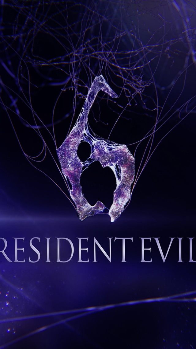 Resident Evil 6 game iPhone 5 (5S) (5C) (SE) wallpaper - 640x1136