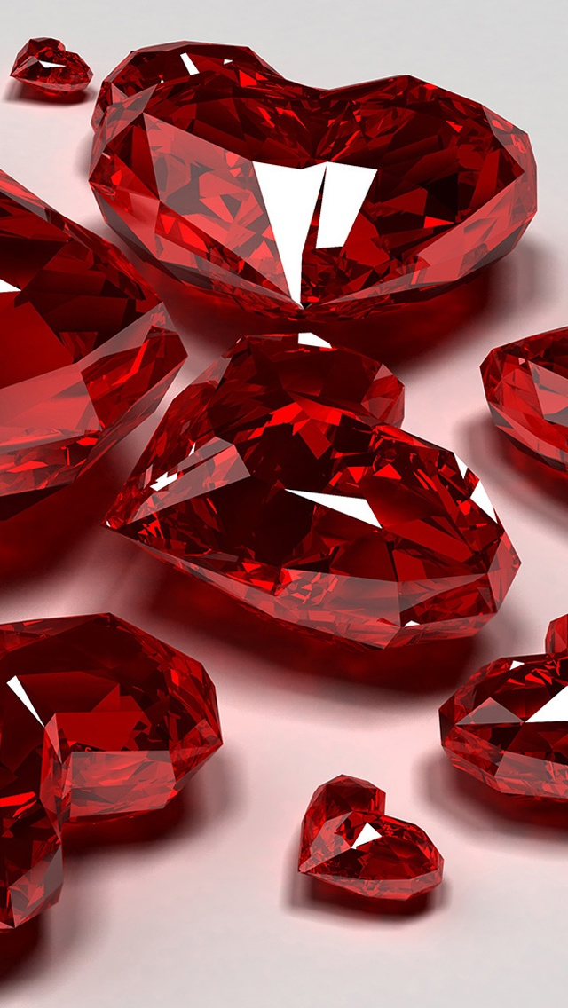 Jewelry Of Ruby Close Up Iphone X 8 7 6 5 4 3gs Wallpaper