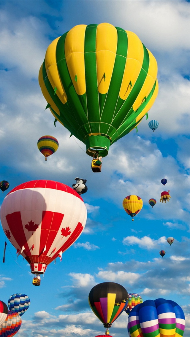 gallery for hot air balloons wallpaper