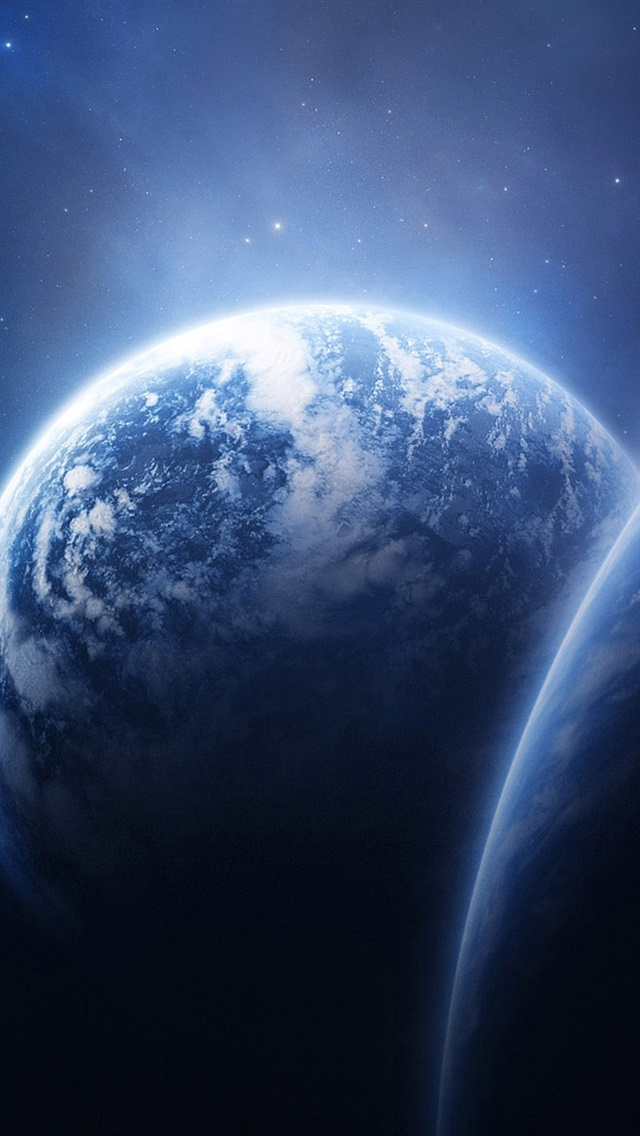 Planet Earth Space Iphone X 8 7 6 5 4 3gs Wallpaper Download