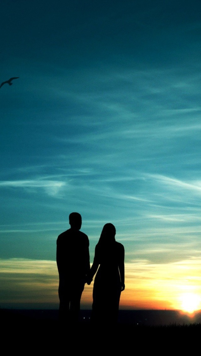romantic silhouette wallpapers - photo #14