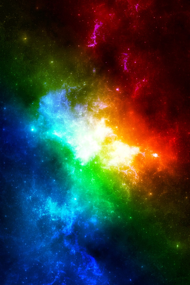 abstract colors in space iphone x 8 7 6 5 4 3gs wallpaper