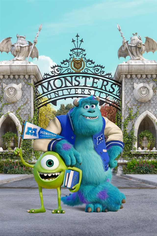 Anime Guy Angry Monsters University iP...