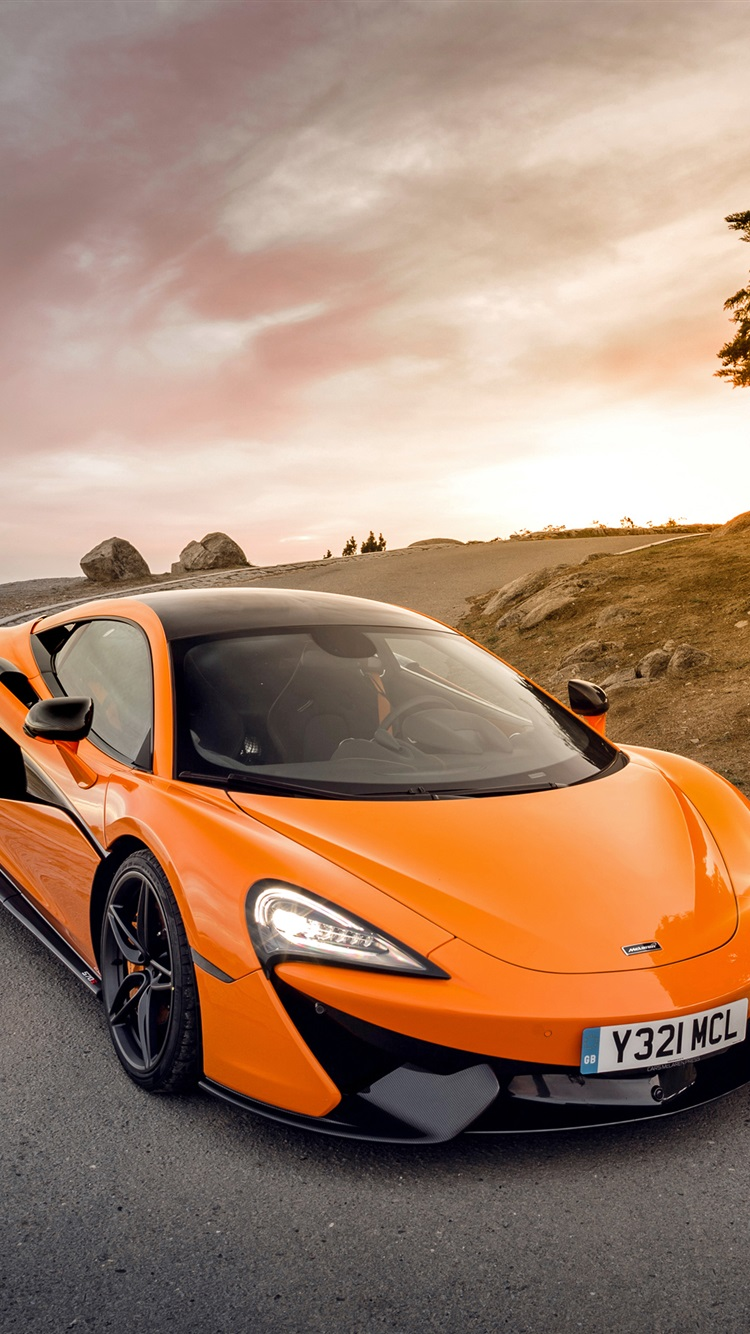 Mclaren Orange Supercar Iphone Wallpaper Iphone
