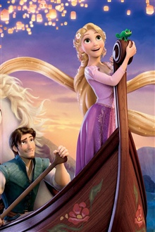 2011 Tangled iPhone Wallpaper Preview