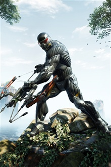 Crysis 3 iPhone Wallpaper Preview