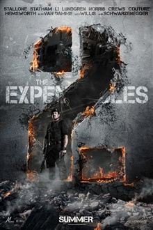 The Expendables 2 poster iPhone Wallpaper Preview
