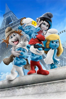 The Smurfs 2 iPhone Wallpaper Preview