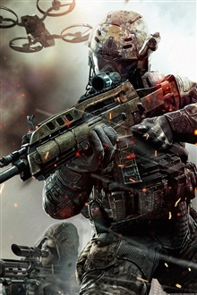 Call Of Duty Black Ops 2 Iphone X 8 7 6 5 4 3gs Wallpaper Download