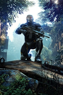 Crysis 3 PC game iPhone Wallpaper Preview