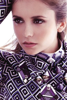 Nina Dobrev 02 iPhone Wallpaper Preview