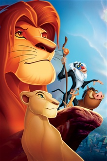 The Lion King iPhone Wallpaper Preview
