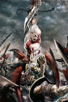 God of War 3 iPhone Wallpaper Preview
