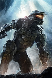 Halo 4 iPhone Wallpaper Preview