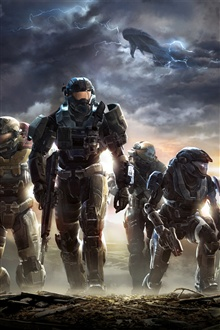 Halo: Reach iPhone Wallpaper Preview