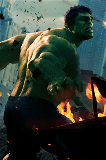 Hulk in The Avengers iPhone Wallpaper Preview