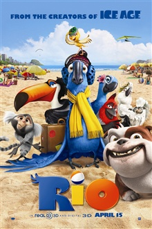 Rio 3D movie iPhone Wallpaper Preview