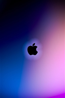 Apple purple and blue background iPhone Wallpaper Preview
