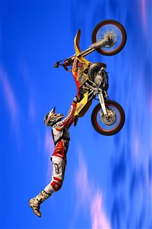 Moto racing iPhone Wallpaper Preview