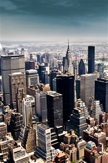 New York City, buildings iPhone Wallpaper Preview