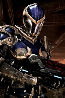 Mass Effect 3 soldier iPhone Wallpaper Preview