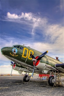 Planes Painted Aviation iPhone Wallpaper Preview