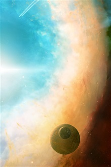 Sky planet graphics iPhone Wallpaper Preview