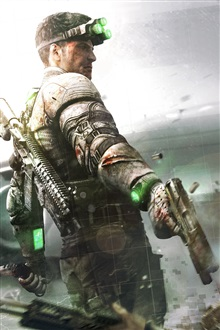 Splinter Cell: Blacklist iPhone Wallpaper Preview