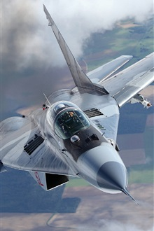 MiG-29A fighter iPhone Wallpaper Preview