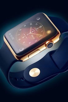 Apple watch, iWatch iPhone Wallpaper Preview