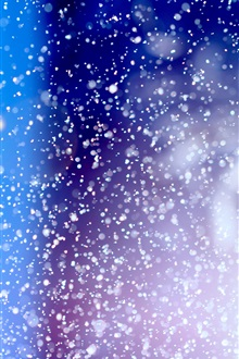 Abstract, color, point, like snow iPhone Wallpaper Preview