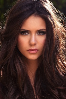 Nina Dobrev 18 iPhone Wallpaper Preview
