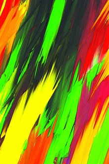 Colorful colors, abstract image iPhone Wallpaper Preview