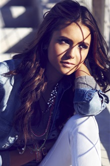 Nina Dobrev 22 iPhone Wallpaper Preview