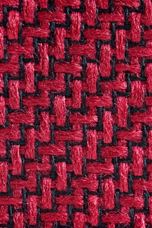 Fabric fibers surface, red and black iPhone Wallpaper Preview