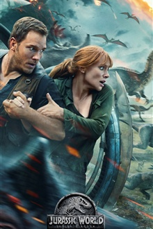 Jurassic World: Fallen Kingdom 2018 iPhone Wallpaper Preview