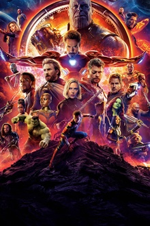 Superheroes, Avengers: Infinity War iPhone Wallpaper Preview