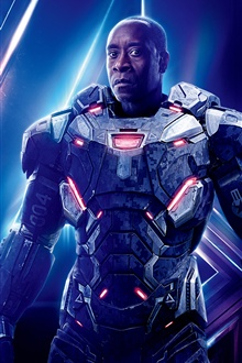 War Machine, Avengers: Infinity War iPhone Wallpaper Preview