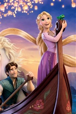 2011 Tangled iPhone wallpaper