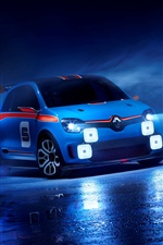 2013 Renault TwinRun concept car iPhone wallpaper