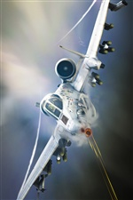 A-10 Tankbuster, attack aircraft iPhone Wallpaper