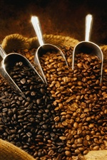 A bag of coffee beans iPhone wallpaper