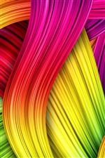 Abstract colors iPhone wallpaper