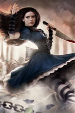 Alice: Madness Returns PC game iPhone wallpaper