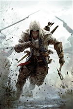 Assassin's Creed 3 PC game iPhone wallpaper